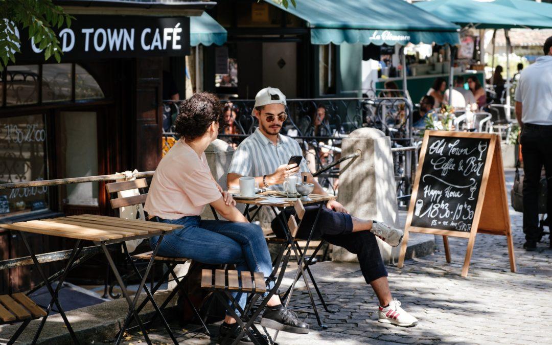 Udendørsmøbler til din café eller restaurant